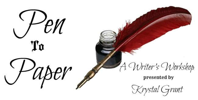 Pen To Paper Writer's Workshop~ Join Me!