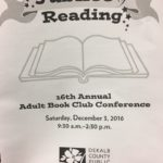 Dekalb Public Library Jubilee of Reading Book club conference