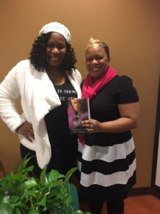 Authors Reshonda Tate Billingsly and Krystal Grant