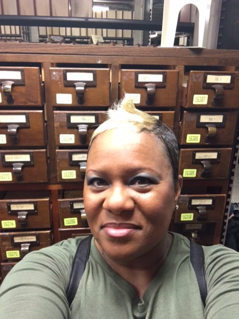 card catalogs at the Library of Congress