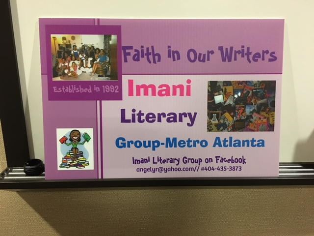 Imani Literary Group Book Event