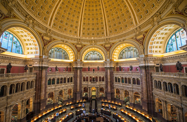 A Private Tour of The Library of Congress