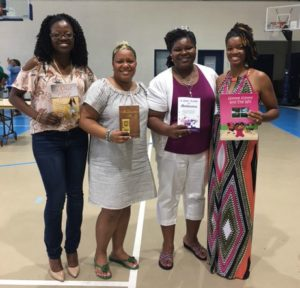 (L to R) Briana Whitaker, Krystal Grant, Kimberly Griffith Massey, Monique Gibson Sandiford